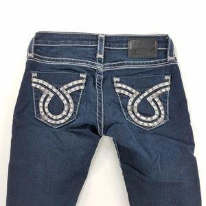Big Star Jenae Skinny Womens Denim Jeans Pants